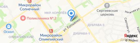Городское бюро медико-социальной экспертизы по Белгородской области №22 на карте Старого Оскола