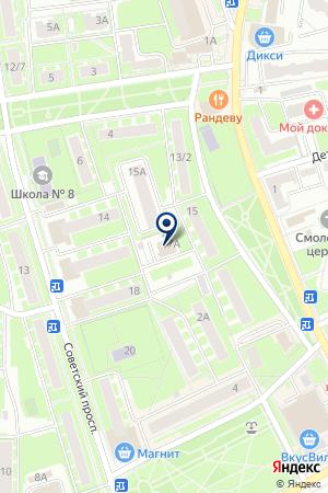 МУ ИВАНТЕЕВСКОЕ УПРАВЛЕНИЕ ГОРОДСКОГО ХОЗЯЙСТВА на карте Ивантеевки
