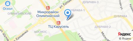 СТРОЙДЕПО на карте Старого Оскола