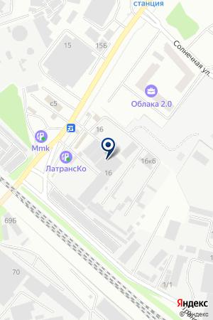ТФ РУБЕЖ на карте Люберец