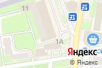 Схема проезда до компании New house в Ивантеевке