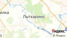 Отели города Лыткарино на карте