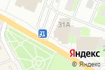 Схема проезда до компании Свежов в Ивантеевке