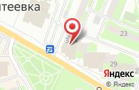Схема проезда до компании АЛЮМДЕКОР в Ивантеевке