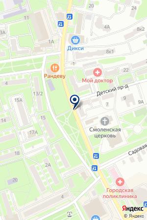 РЕДАКЦИЯ ИВАНТЕЕВСКОГО РАДИО на карте Ивантеевки