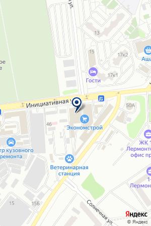 СЕРВИСНЫЙ ЦЕНТР АВТОСЕРВИС на карте Люберец