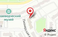 Схема проезда до компании Хорошее начало в Ивантеевке