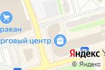Схема проезда до компании Стильная мебель в Донецке