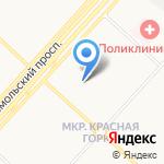 Bona fidе Kemerovo-Moscow на карте Люберец