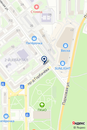 ФОТОАТЕЛЬЕ ЧАГУРИН С.М. на карте Лыткарино