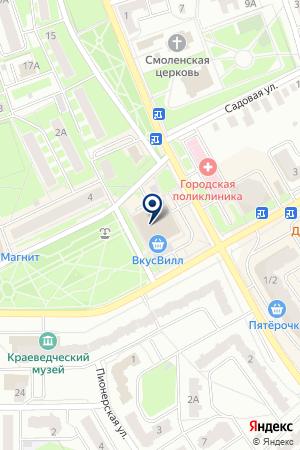 ЗООМАГАЗИН на карте Ивантеевки