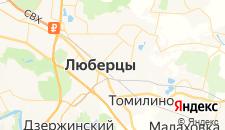 Гостиницы города Красная Горка на карте
