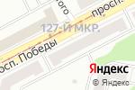 Схема проезда до компании Автообуч в Череповце