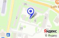 Схема проезда до компании МЕБЕЛЬНАЯ ФАБРИКА ХРИЗОЛИТ в Ивантеевке