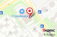 Схема проезда до компании Белорусские кухни в Старом Осколе