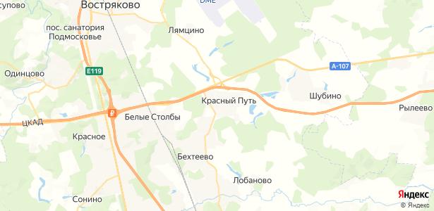 Житнево на карте