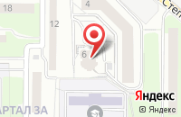 Схема проезда до компании Deco картинный гардероб в Иваново