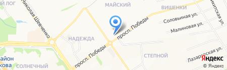 Строящееся административное здание по ул. 25 Съезда КПСС на карте Старого Оскола