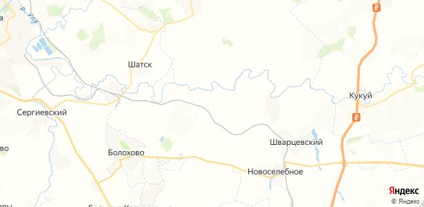 Куракино на карте