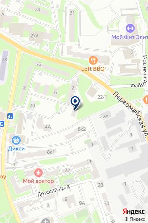 ЦТО ЭКОМП на карте Ивантеевки