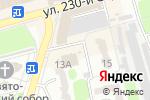 Схема проезда до компании Киоск по ремонту обуви в Донецке