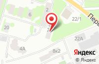 Схема проезда до компании Эко-Система в Ивантеевке