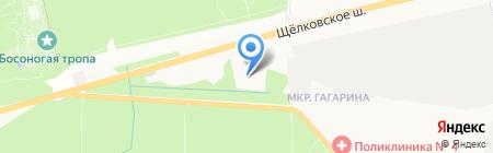 Бизнес-партнеры на карте Балашихи