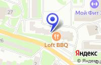 Схема проезда до компании СТРОИТЕЛЬНАЯ КОМПАНИЯ ПОЛИГОН-СЕРВИС в Ивантеевке