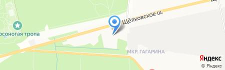 Зоотовары на карте Балашихи