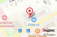 Схема проезда до компании EXIST в Ивантеевке