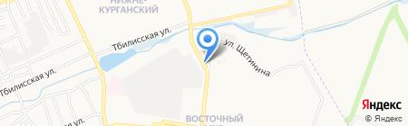 Ритм на карте Донецка