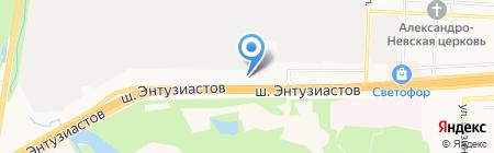 АЗС Нефтьмагистраль на карте Балашихи
