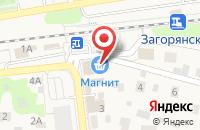 Схема проезда до компании Магазин хозтоваров в Загорянском