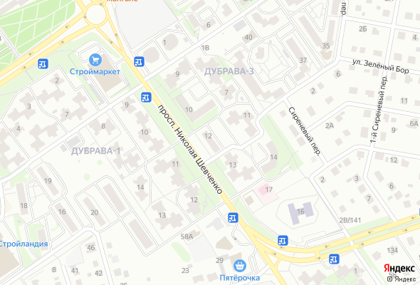 продажа квартир микрорайон Дубрава-3, 12