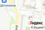 Схема проезда до компании Чудо печка в Донецке