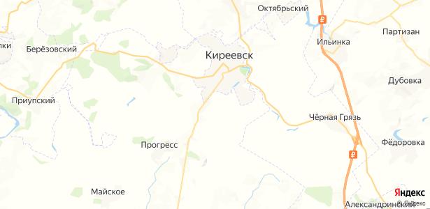 Брусяновка на карте