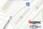 Схема проезда до компании PADARUNAK.RU в Москве
