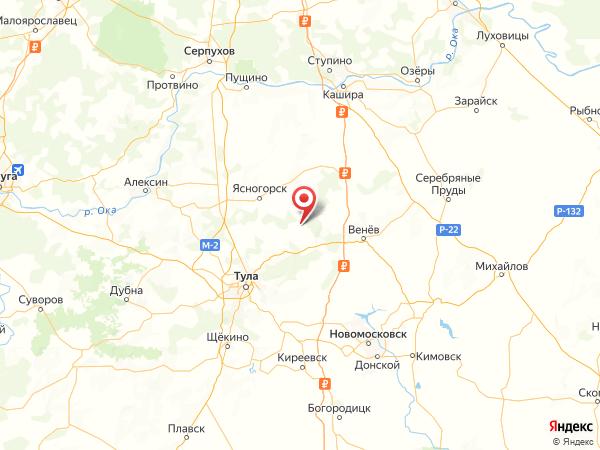 деревня Екатериновка на карте