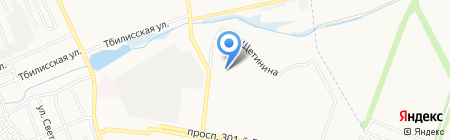 Сталкер на карте Донецка