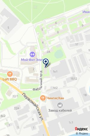 САДОВОДЧЕСКОЕ ТОВАРИЩЕСТВО УЧИТЕЛЬ-2 на карте Ивантеевки