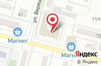 Схема проезда до компании Промресурс в Череповце