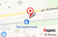 Схема проезда до компании Загорянская в Загорянском