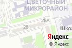 Схема проезда до компании Управляющая компания Будённовского района г. Донецка, КП в Донецке