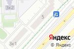Схема проезда до компании Катерина в Москве