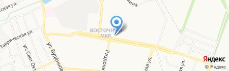 INTER`ER VAV на карте Донецка
