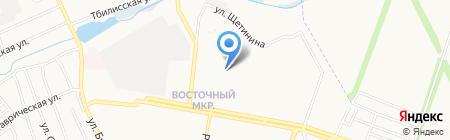 ObnovkA на карте Донецка