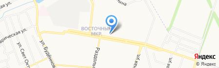 Венера и К на карте Донецка