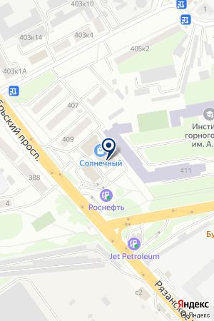 ГСК БАГИРА на карте Люберец