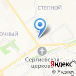 Доктор Столетов на карте Старого Оскола