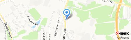 Укрэлектропром на карте Донецка